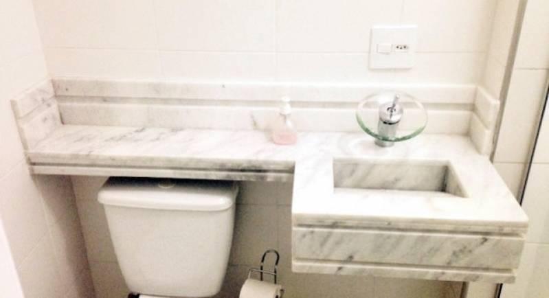 Empresa de Lavatório de Mármore para Banheiro Bom Retiro - Lavatório de Granito para Salão