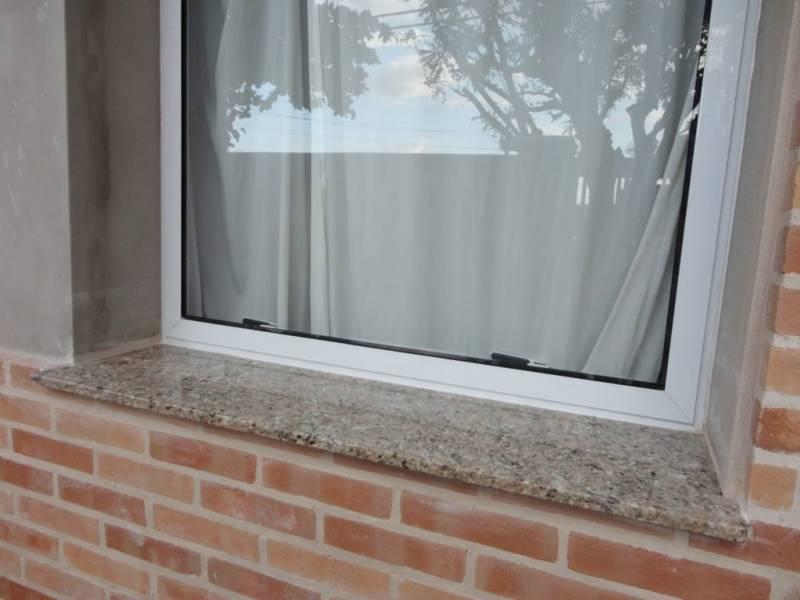 Peitoril de Granito para Janela Preço Pinheiros - Peitoril de Granito sob Medida