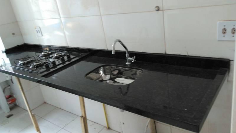 Pia de Granito Preto Preço Santana - Pia de Mármore sob Medida