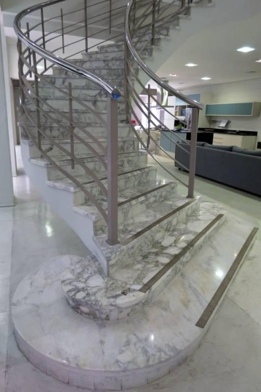 Quanto Custa Escada de Mármore Carrara Macedo - Escada de Granito Travertino