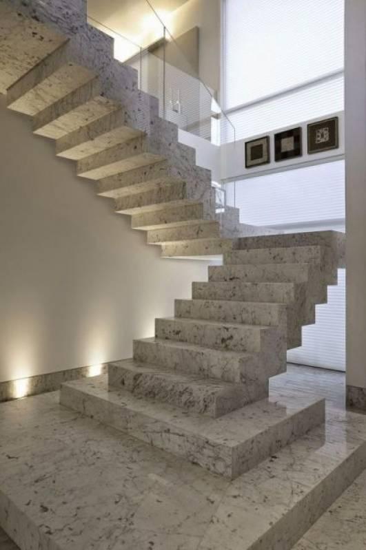 Quanto Custa Escada de Mármore em L Santa Efigênia - Escada de Mármore Travertino
