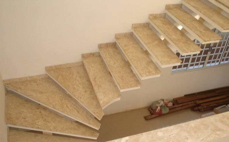 Quanto Custa Escada de Mármore Travertino Santa Efigênia - Escada de Granito Travertino