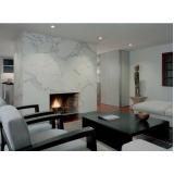 lareiras em mármore branco Pompéia