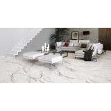 piso de mármore branco República
