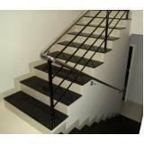 quanto custa escada de granito preto Tatuapé