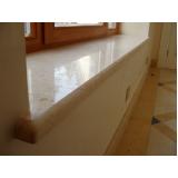 quanto custa peitoril de mármore para janela Bela Vista