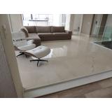 quanto custa piso de mármore para sala Pompéia