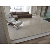 quanto custa piso de mármore para sala Vila Medeiros